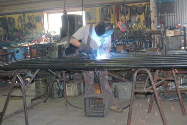 Our experienced in-house welders will custom-build to suit your needs